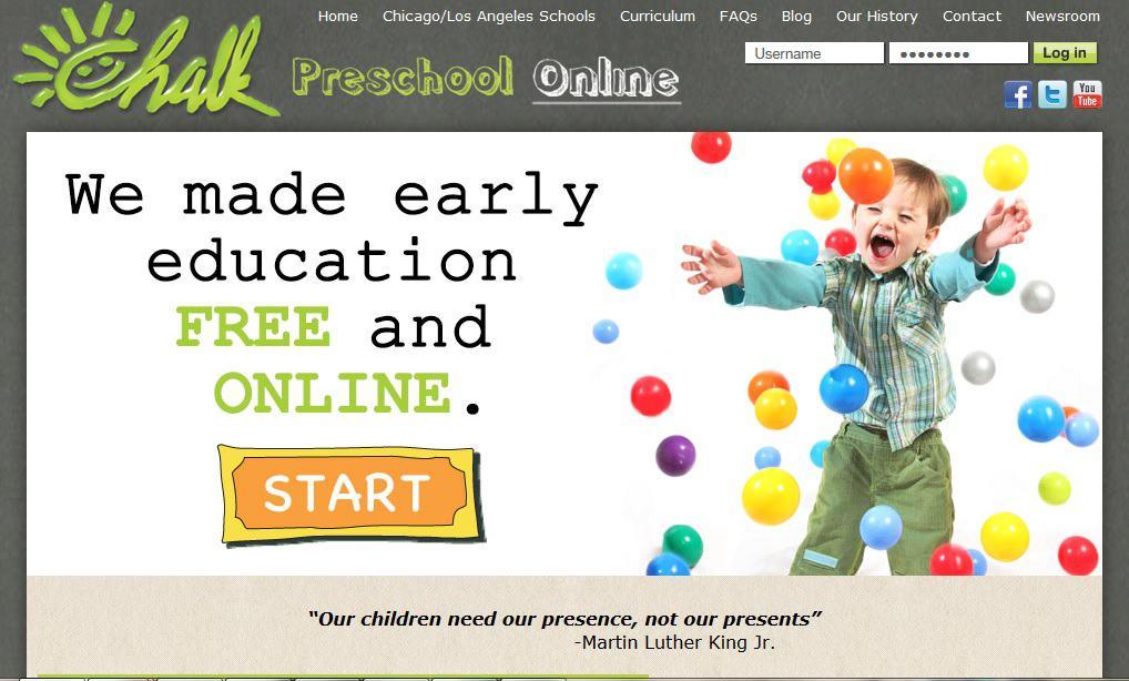Chalk Preschool Free Online