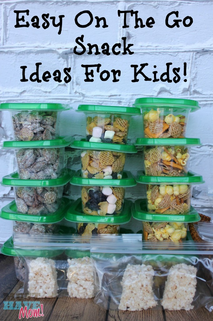 Easy On The Go Snack Ideas For Kids! Stock Your Pantry With Grab and Go Snack Packs