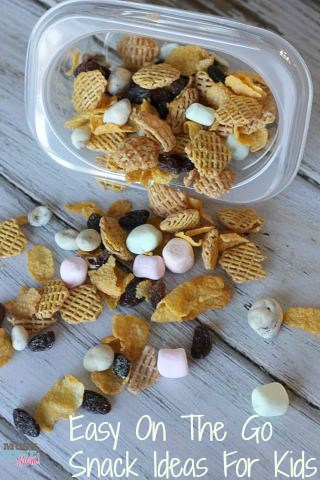 Easy On The Go Snack Ideas For Kids by Must Have Mom