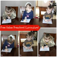 Free Online Preschool Curriculum! Daily Classes & Free Printables!