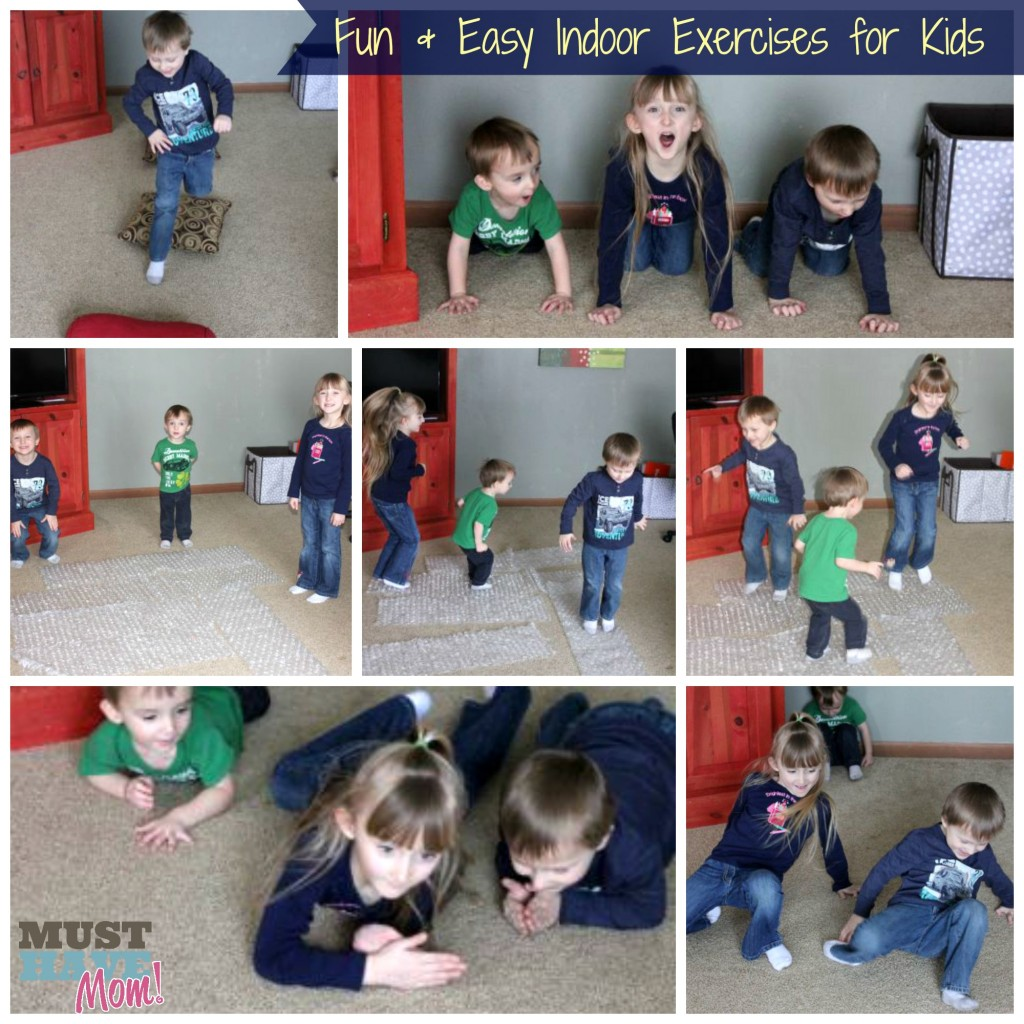 Fun and Easy Indoor Exercises For Kids