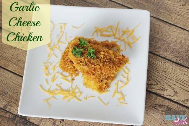 Garlic Cheese Chicken Recipe