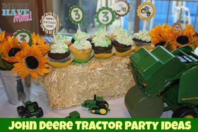 John Deere Tractor Party Ideas