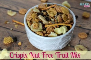 Kellogg's Crispix Nut Free Trail Mix