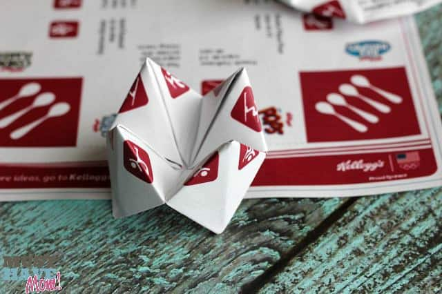 Kellogg's Printable Fortune Teller