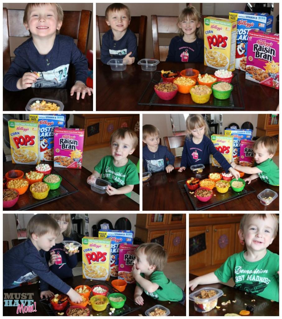 Kellogg's Snack Pairings Activity