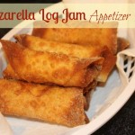 Mozzarella Log Jam Appetizer Recipe! Great Super Bowl Food