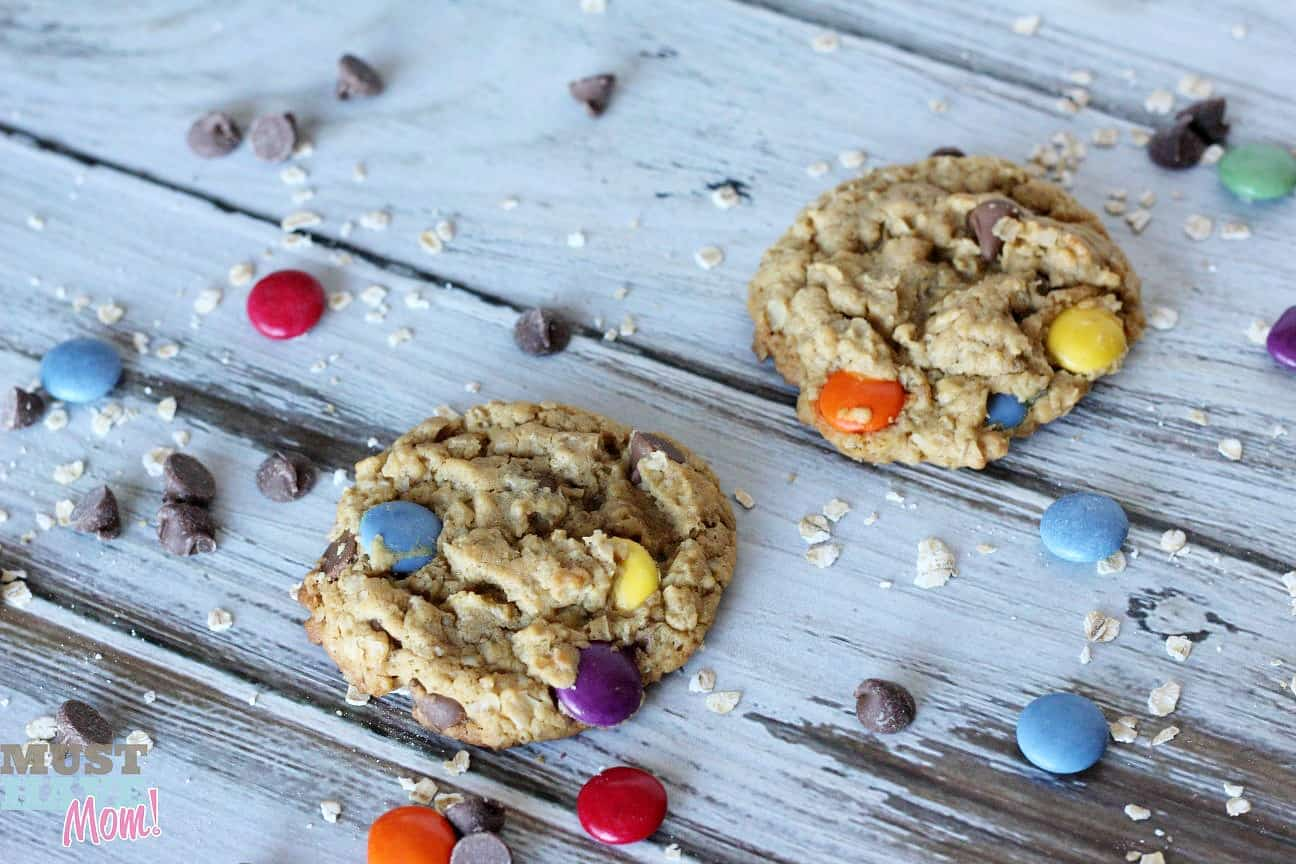 Peanut Free Monster Cookies Recipe