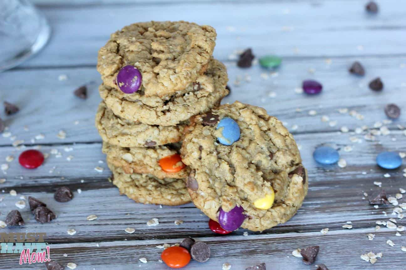 Peanut and Tree Nut Free Monster Cookies Recipe