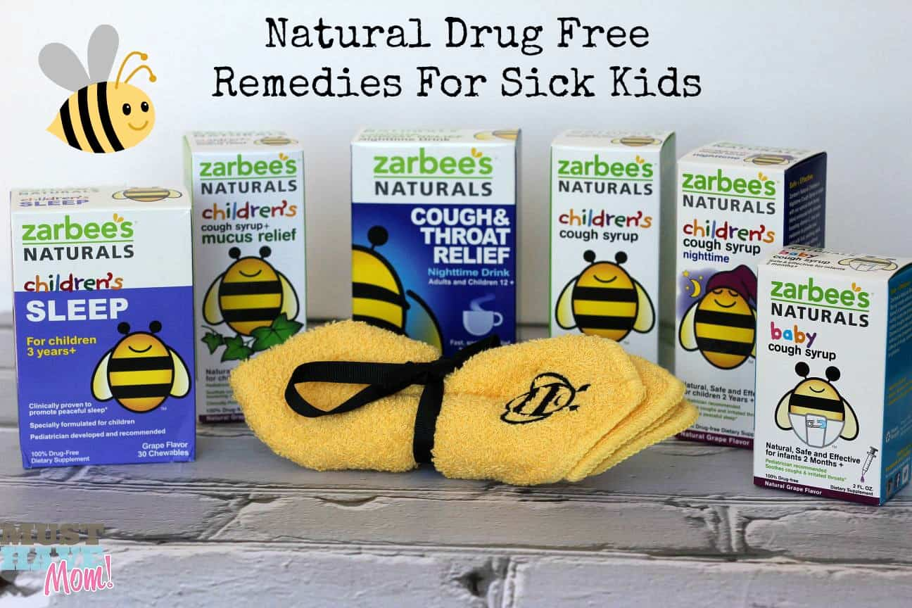 Natural, Drug Free Cold Remedies For Children + Zarbee's Naturals Coupon