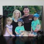 Capture Special Family Moments On Canvas With Easy Canvas Prints! {+ 8 x 10 Canvas Giveaway!}