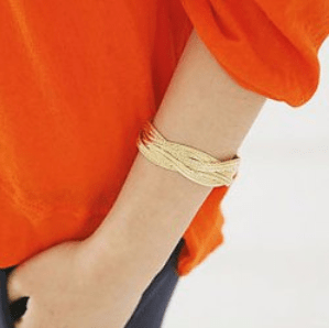 sammy dress gold bracelet