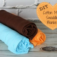 DIY Cotton Muslin Swaddling Blankets - Must Have Mom