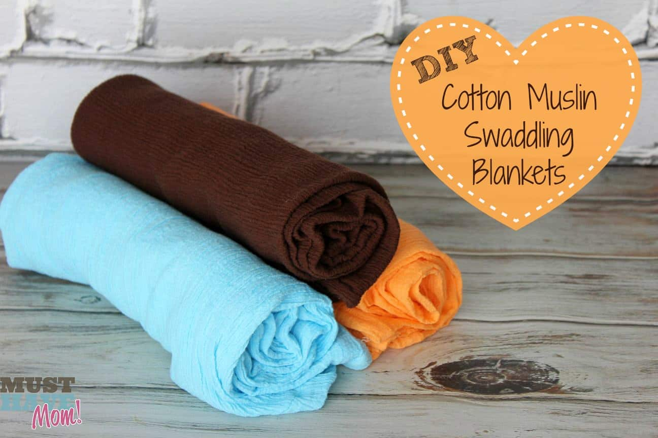 Diy Muslin Swaddling Blankets Tutorial
