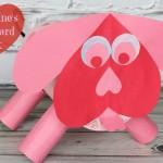 DIY Valentine's Day Puppy Card Box Tutorial