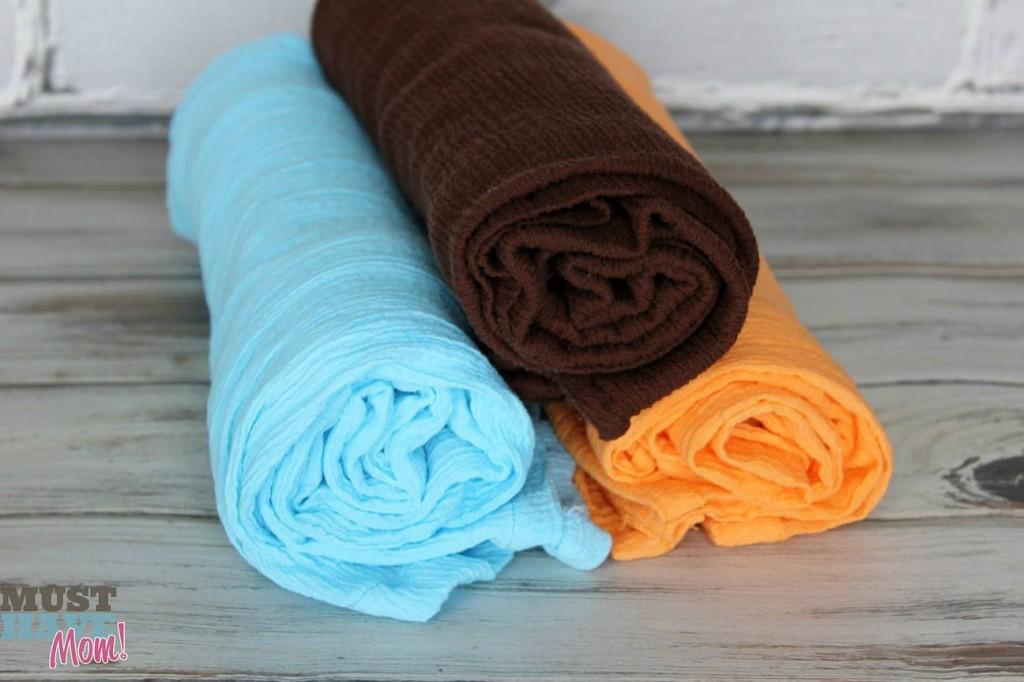DIY aden + anais blankets