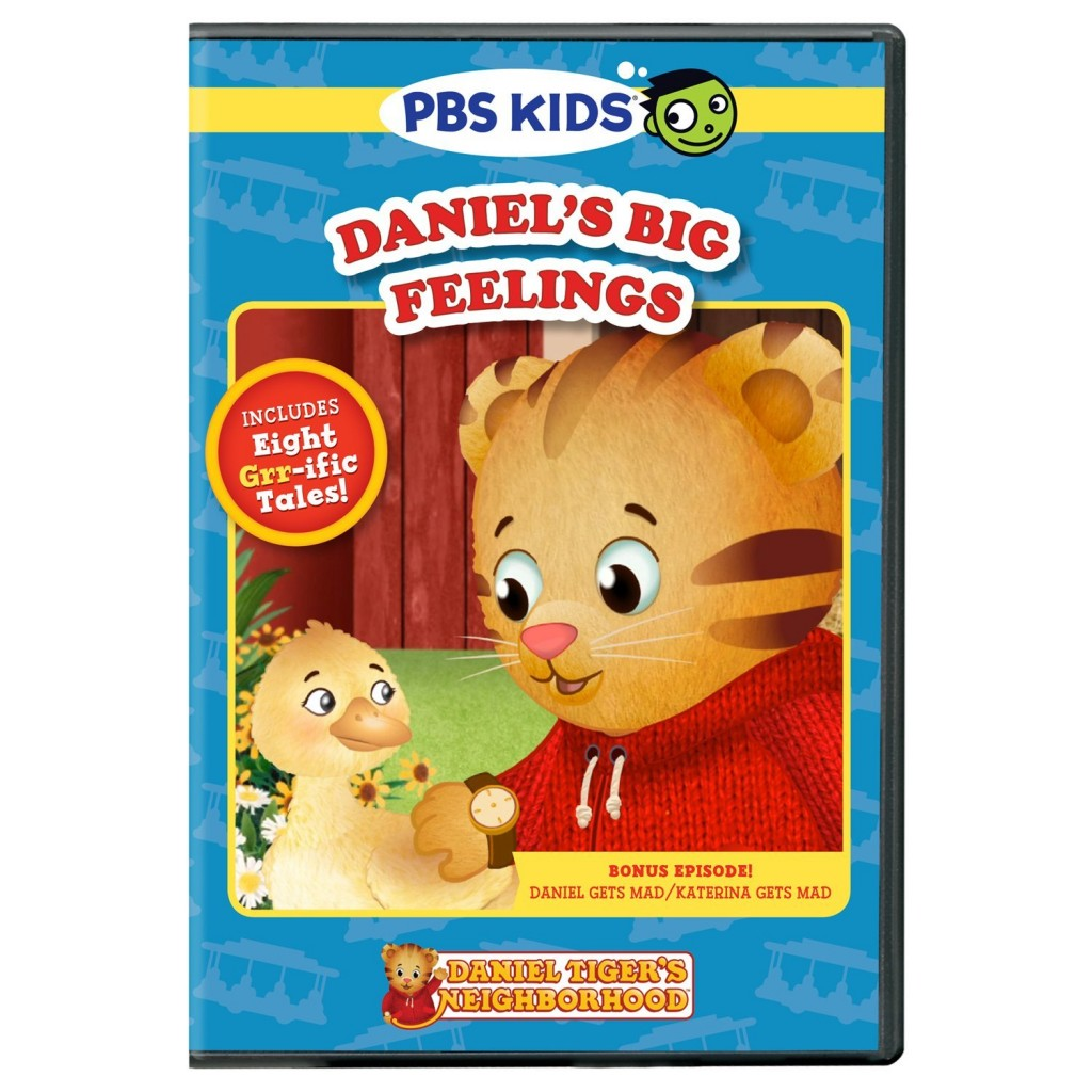 Daniel Tiger Daniel's Big Feelings DVD