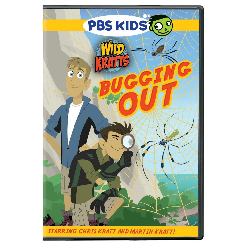 Wild Kratts Bugging Out DVD