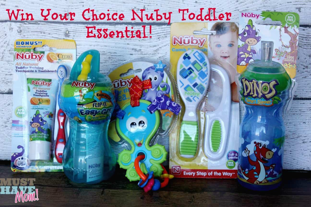 Toddler Essentials From Nuby {Review & Giveaway!}