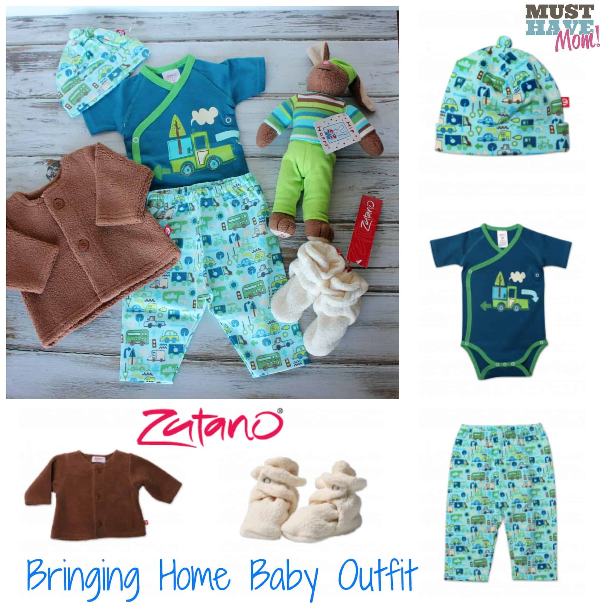 Zutano Bringing Home Baby Outfit