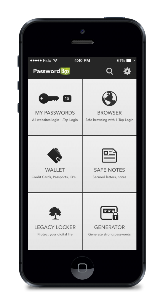 PasswordBox App