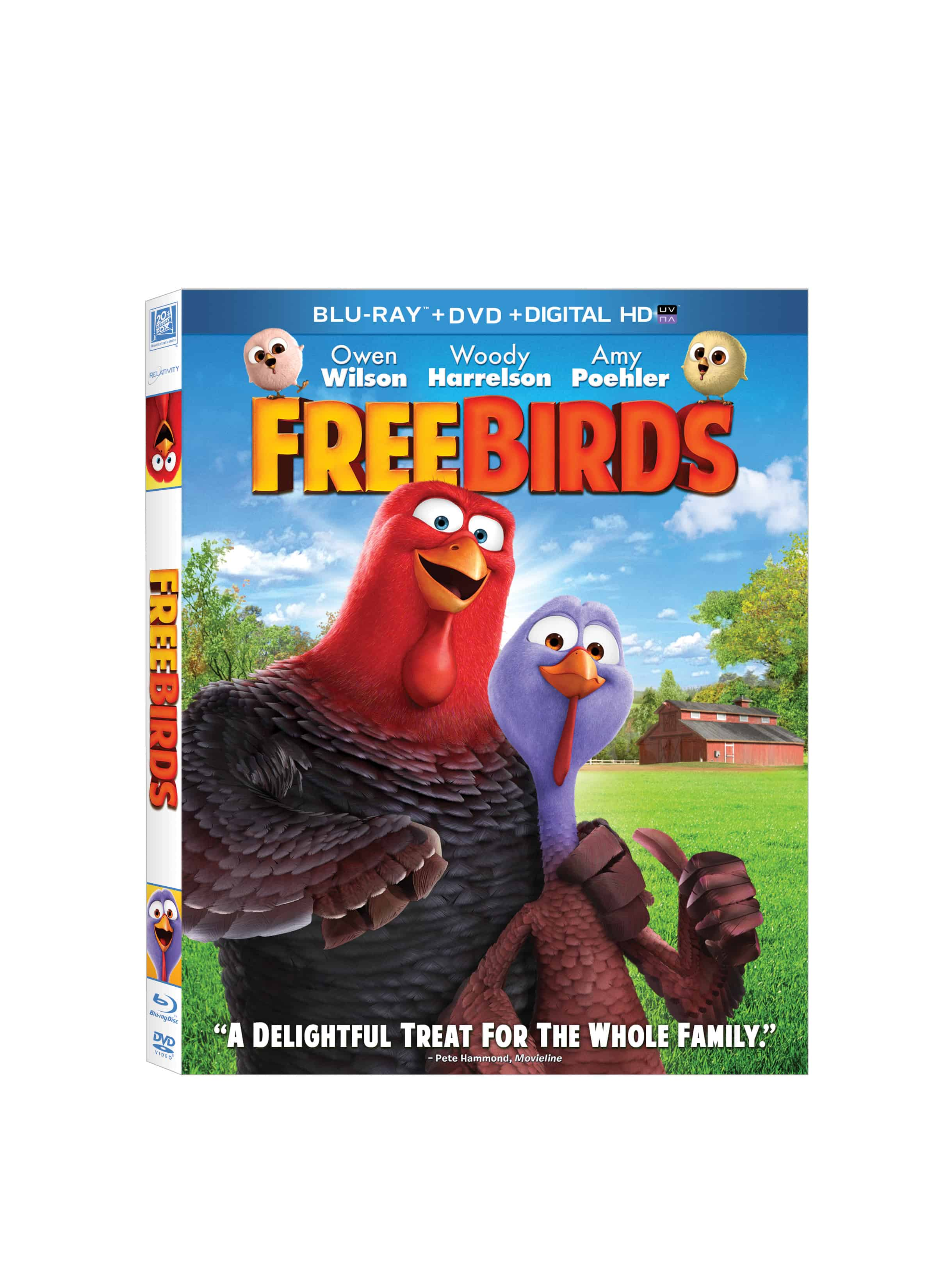 Free Birds on DVD #FreeBirdsDVD