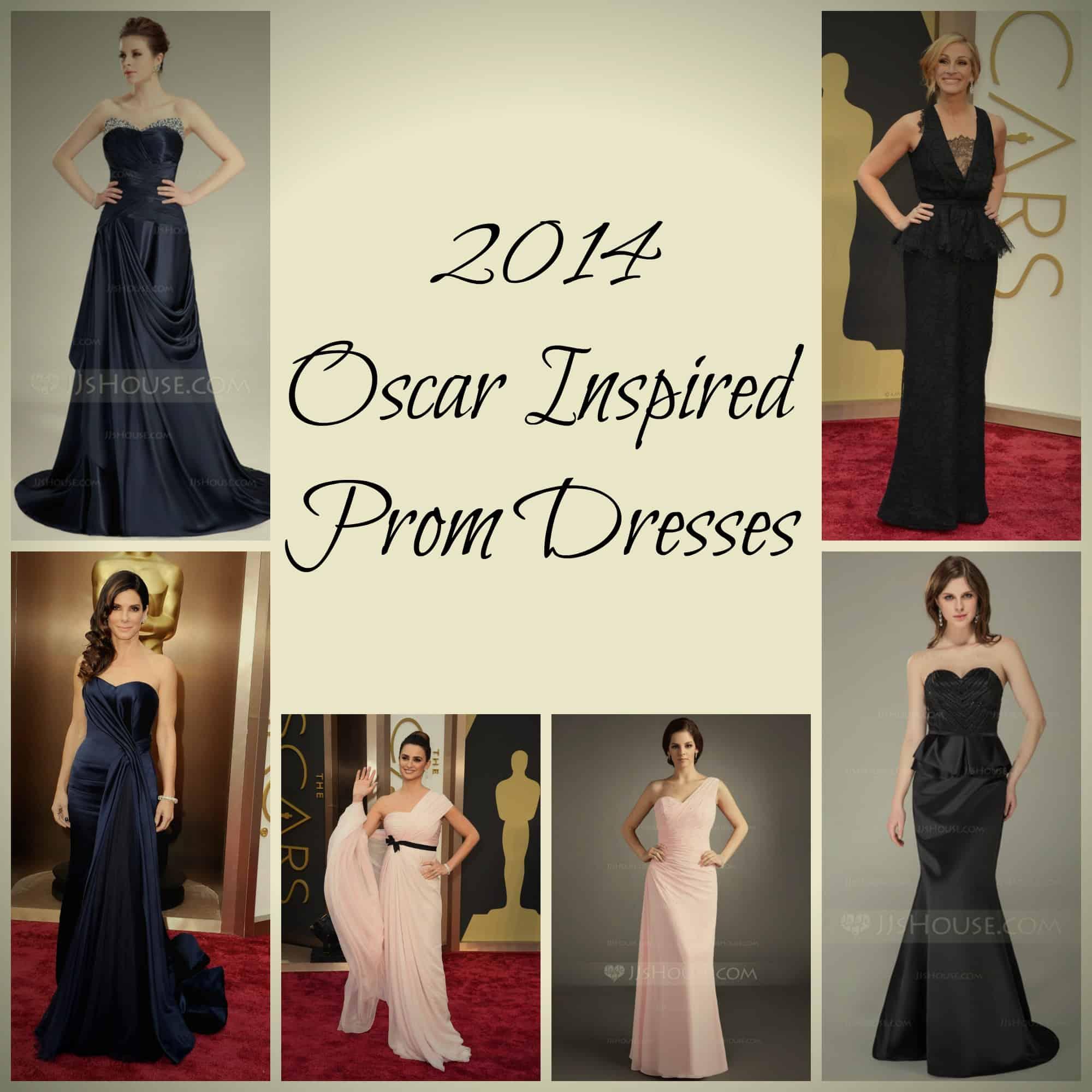 2014 Oscar Inspired Prom Dresses