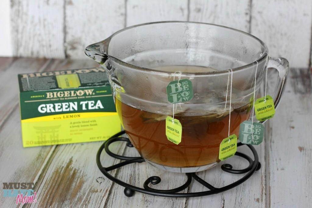 Iced Strawberry Green Tea Recipe — Dishmaps