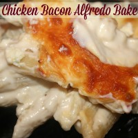 Chicken Bacon Alfredo Bake Recipe - Must Have Mom