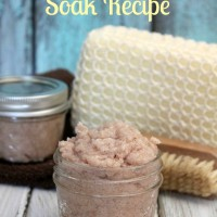 DIY Back Pain Relief Bath Soak! + Tips For Relieving Pain