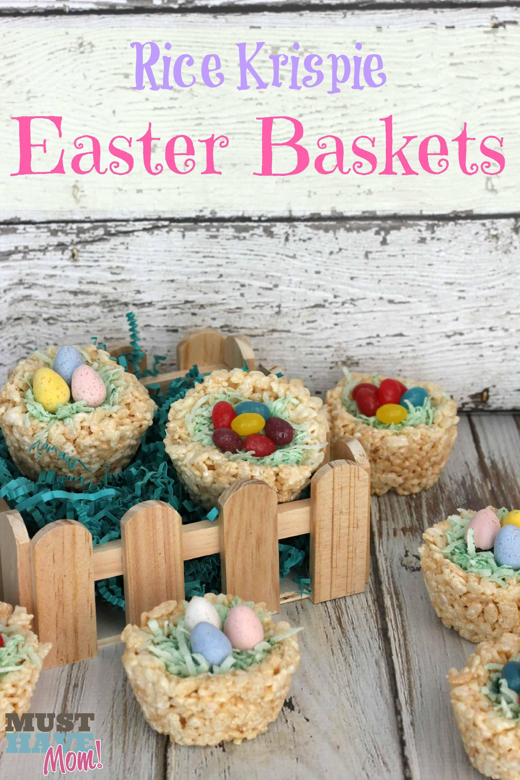 Rice Krispies Easter Baskets Recipe