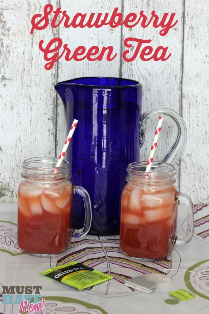 Strawberry Green Tea Recipe