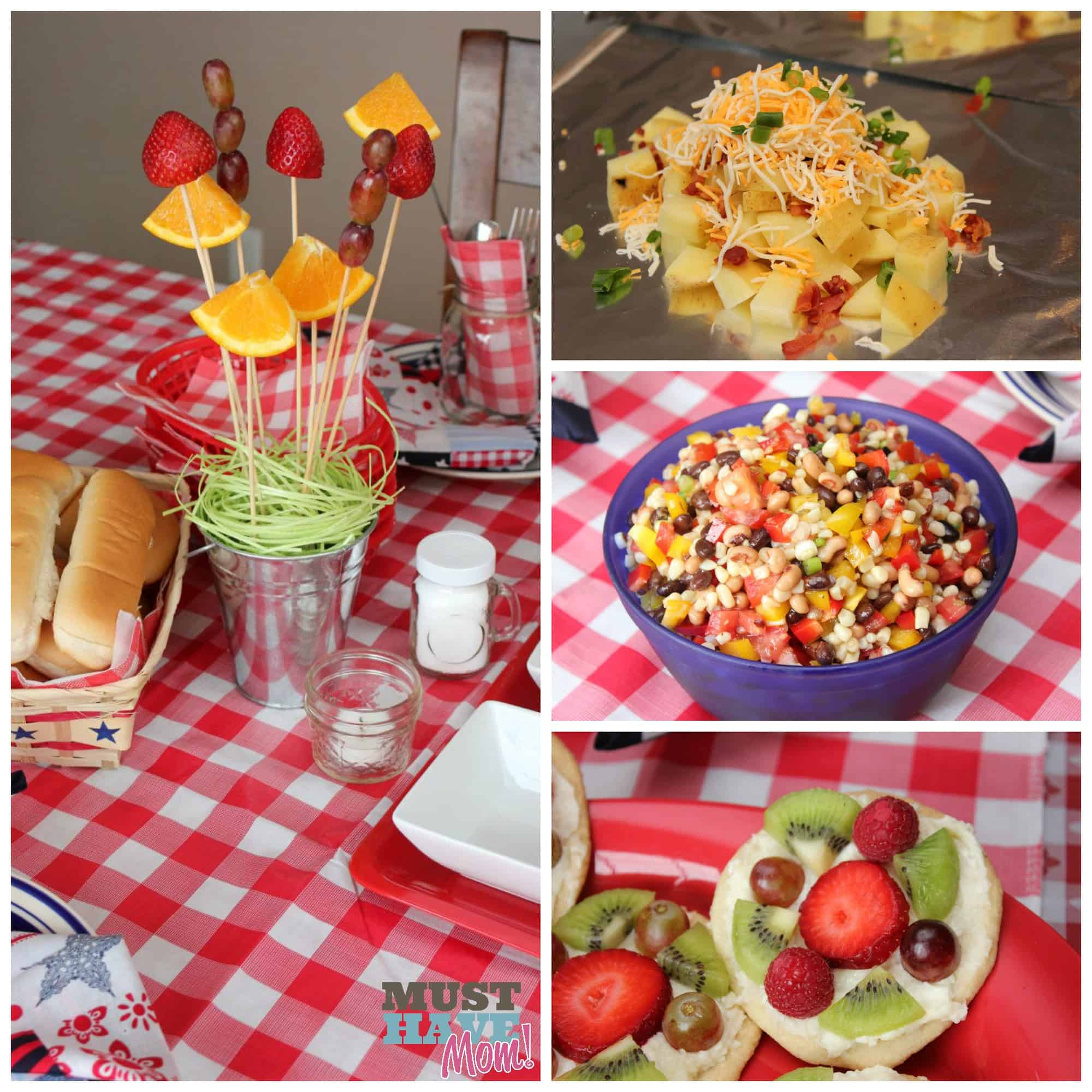 Bbq Food Ideas: Host The Ultimate BBQ Party: BBQ Party Ideas, Tablescape
