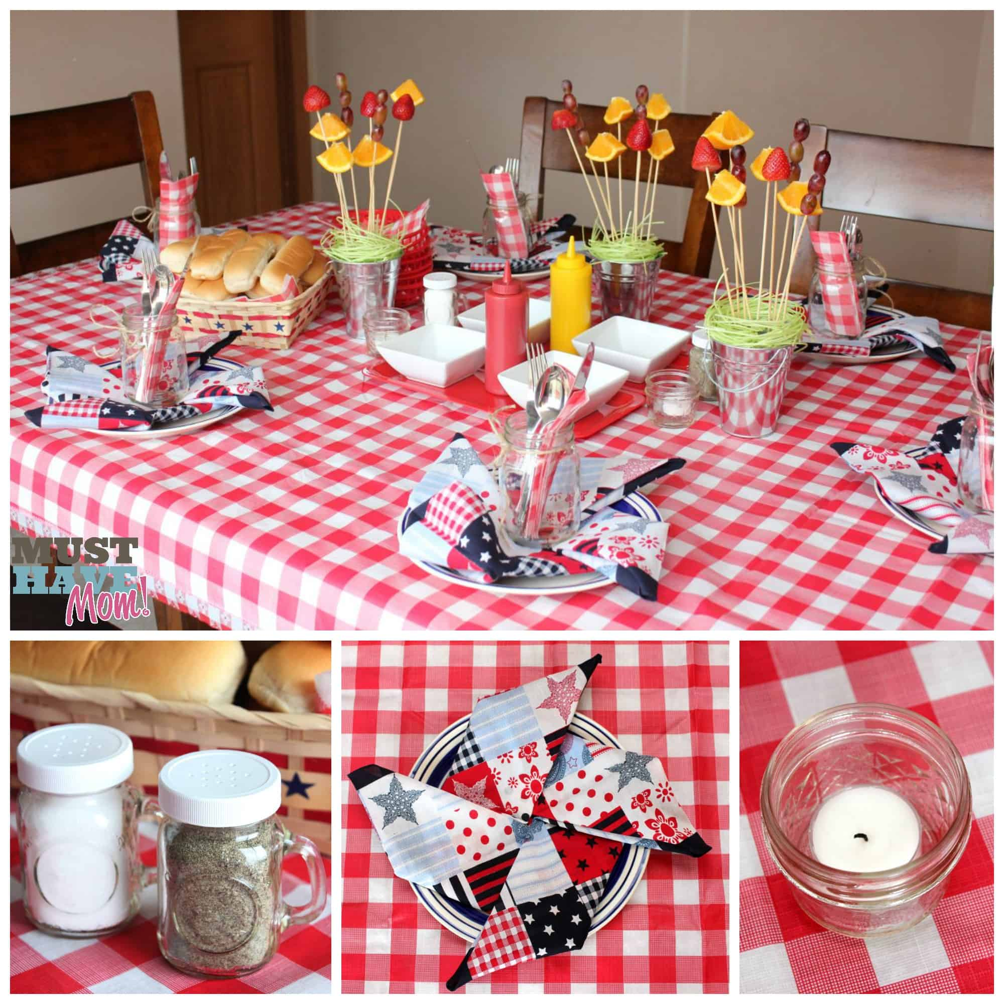 BBQ Tablescape Ideas - Must Have Mom