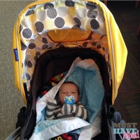 Brady in Bliss Stroller - Must Have Mom #BradyBliss