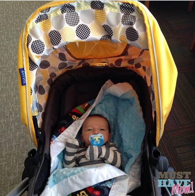 Brady in Bliss Stroller - Must Have Mom #BradyBliss