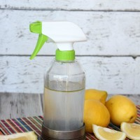 DIY All Purpose Cleaner With Essential Oil  + DIY Glass Spray Bottle