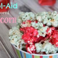 Kool-Aid Flavored Popcorn Recipe + Watermelon Drink!