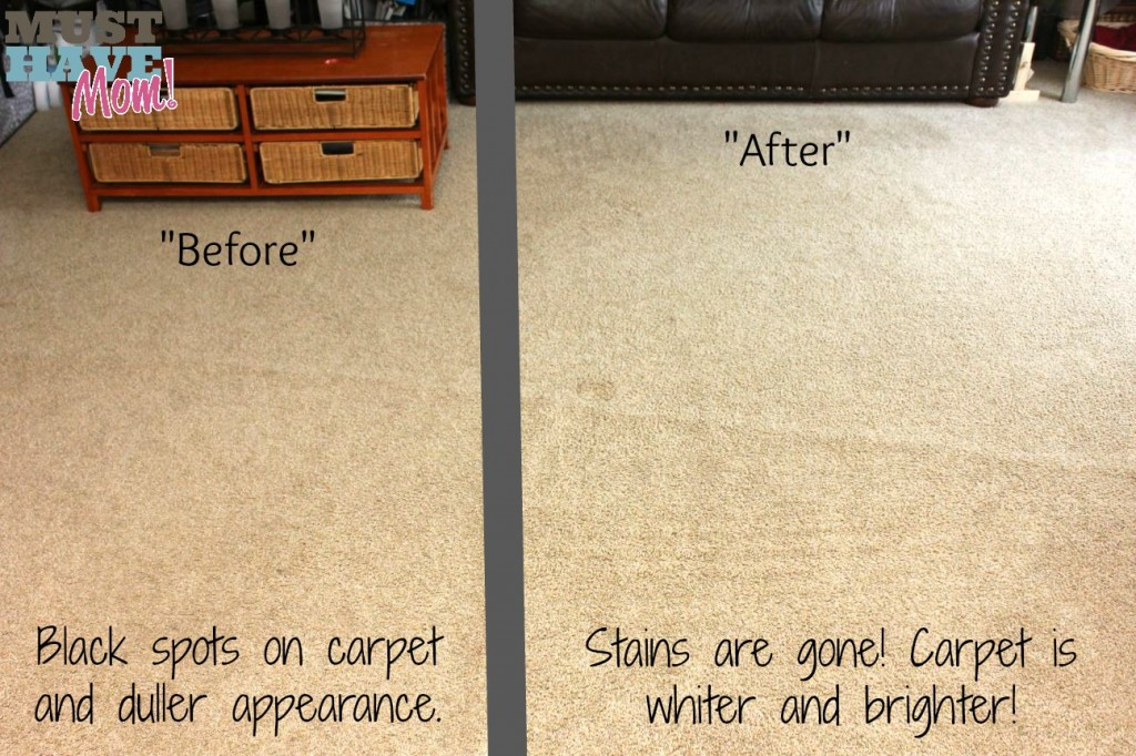 Krud Kutter Carpet Cleaning Before & After - Must Have Mom