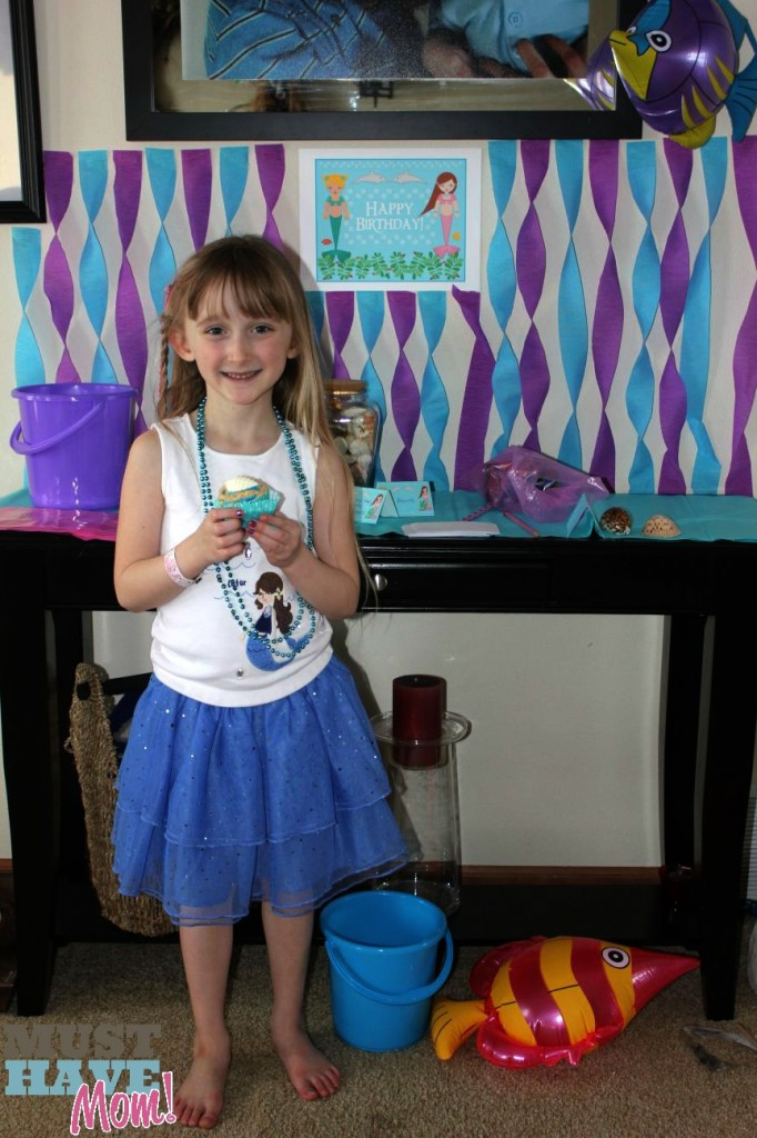 Mermaid Party Birthday Girl - Must Have Mom