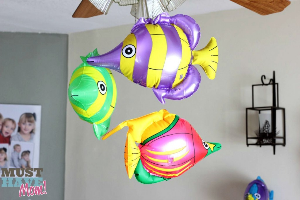 Mermaid Party Decor Fish - Must Have Mom