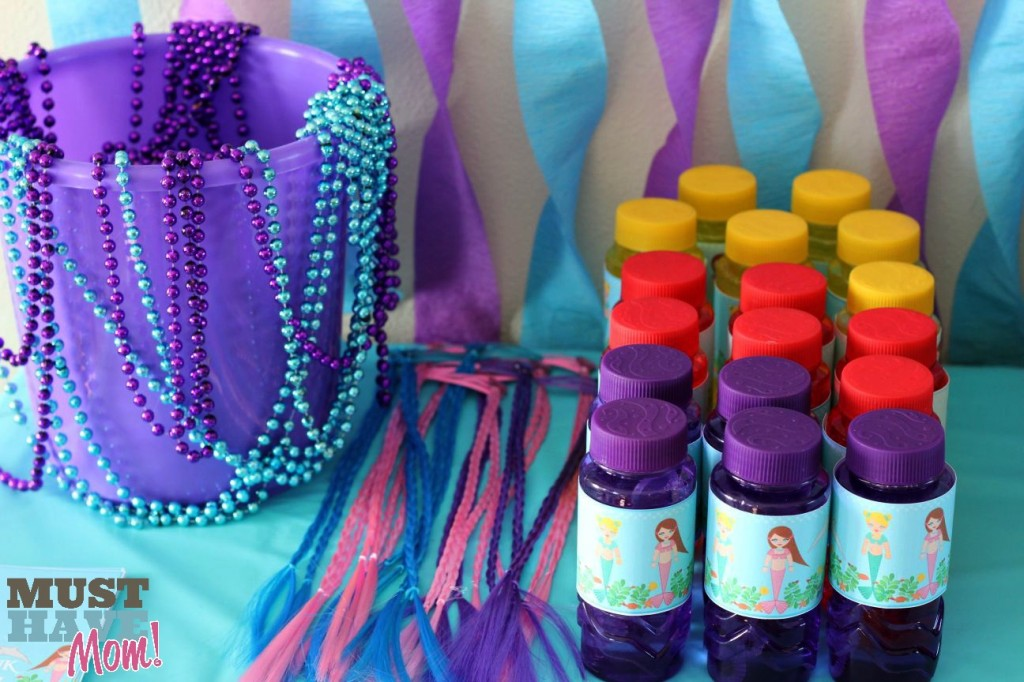 Mermaid Party Favors - Must Have Mom