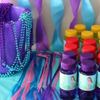 Mermaid Birthday Party Ideas! Decor, Free Mermaid Printables & Party Favors