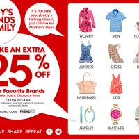 Mother's Day Gift Ideas: Macy's Friends & Family Sale + Macy's Promo Code 25% Off & Free Shipping!