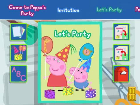 Peppa Pigs Party Time App