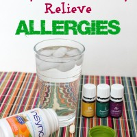 10 Ways To Naturally Relieve Allergies! Natural Probiotic, Essential Oils & More Tips