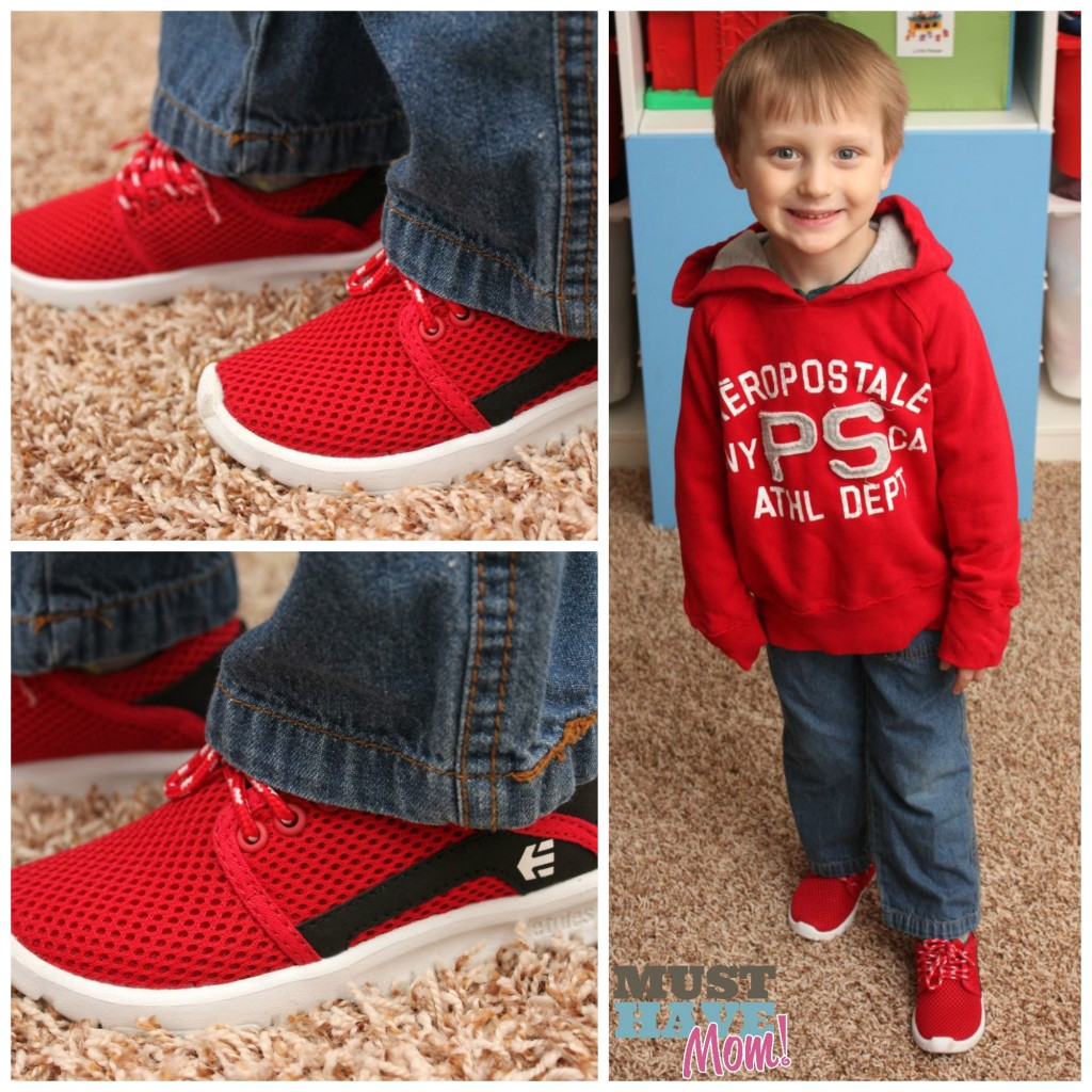 Aiden wearing Etnies Scout - Must Have Mom