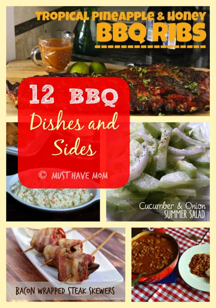 12 BBQ Dishes and Sides!