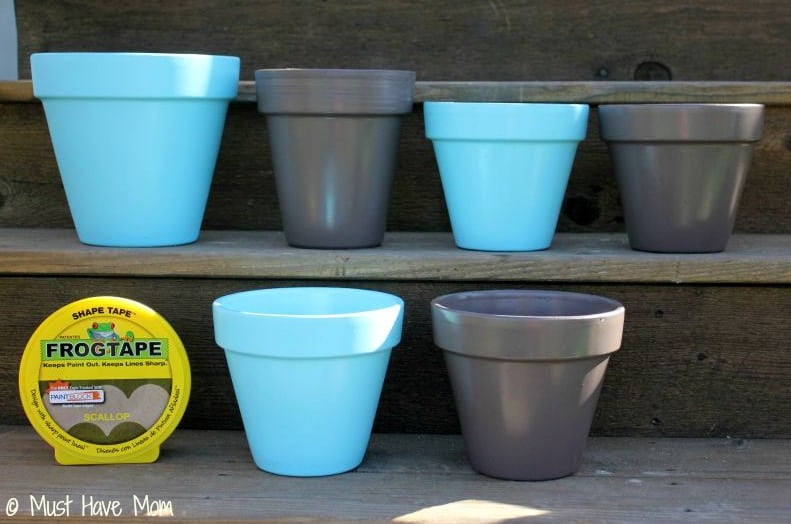DIY Topsy Turvey Flower Planter Step 1 - Must Have Mom