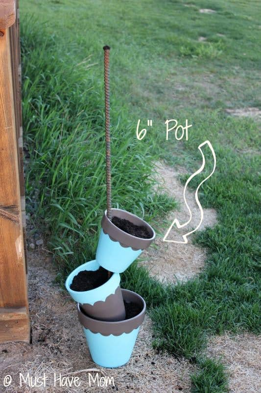 DIY Topsy Turvey Flower Planter Step 7 - Must Have Mom